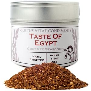 Густус Витаэ, Condiments, Gourmet Seasoning, Taste of Egypt, 1.9 oz (55 g) отзывы