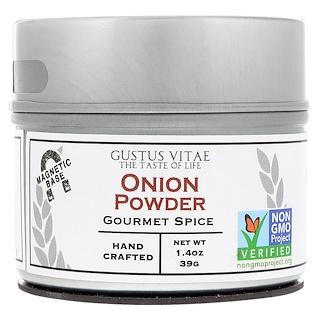 Gustus Vitae, Gourmet Spice, Onion Powder, 1.4 oz