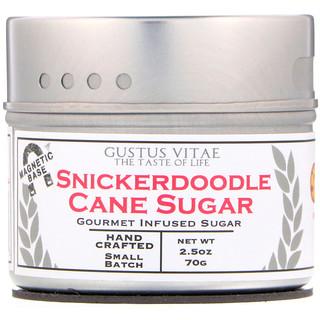 Gustus Vitae, Cane Sugar, Snickerdoodle, 2.5 oz (70 g)