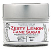 Gustus Vitae, Cane Sugar, Zesty Lemon, 2 oz (56 g)