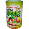 Greens World, Delicious Greens 8000, Sabor a Bayas, 10.6 oz (300 g)