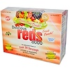 Greens World, Delicious Reds 8000, Fruit Punch, 24 Packets, 7.2 oz (204 g) (Discontinued Item)