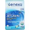 Genexa, Jet Lag Rx, Vanilla Lavender Flavor, 60 Chewable Tablets