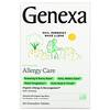 Genexa, Allergy Care, Organic Allergy & Decongestant, Organic Acai Berry , 60 Chewable Tablets