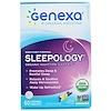 Genexa, Sonologia, Auxílio Orgânico para o Sono Noturno, Sabor Lavanda Baunilha, 60 Comprimidos Mastigáveis
