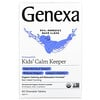 Genexa, Kids´ Calm Keeper, Calming & Relaxation, Ages 3+, Vanilla & Lavender, 60 Chewable Tablets