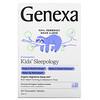 Genexa, Kids' Sleepology, Organic Nighttime Sleep Aid, Ages 3+, Vanilla & Lavender, 60 Chewable Tablets