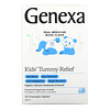 Genexa, Kid's Tummy Relief, Ages 2+, Organic Berry & Vanilla, 30 Chewable Tablets
