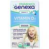 Genexa, Детский витаминD3, для детей возраста 1+, органический ванильный ароматизатор, 400МЕ, 7мл (0.23жидк.унции)
