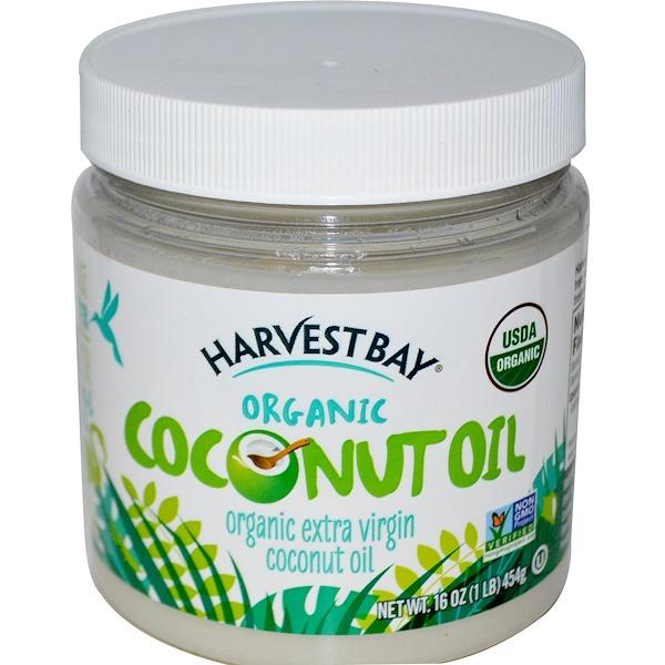 Harvest Bay, Organic, Extra Virgin Coconut Oil, 16 oz (454 g) (Discontinued Item)