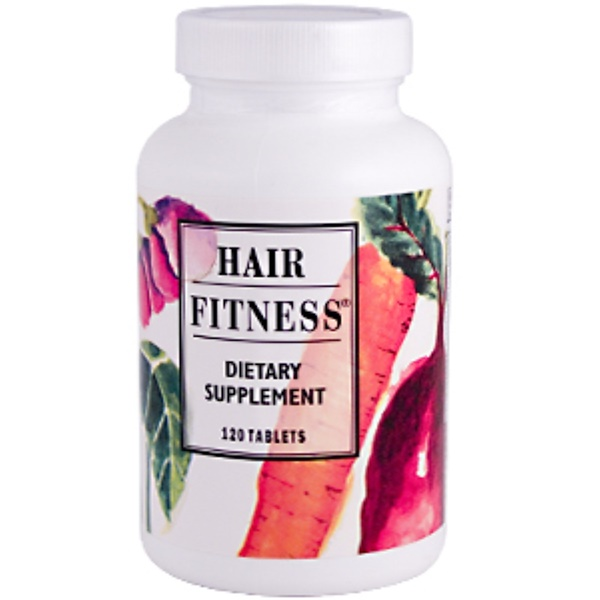 Hair Fitness, Nutritional Supplement for Hair Nourishment, 120 Tablets (Discontinued Item)