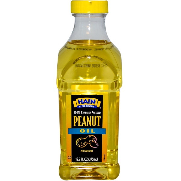 Hain Pure Foods, Peanut Oil, 12.7 oz (375 ml) (Discontinued Item)