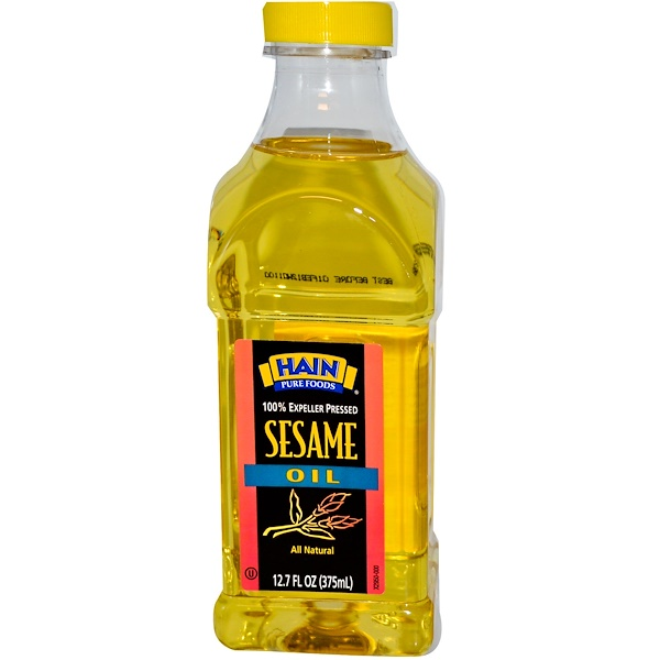 Hain Pure Foods, Sesame Oil, 12.7 oz (375 ml) (Discontinued Item)