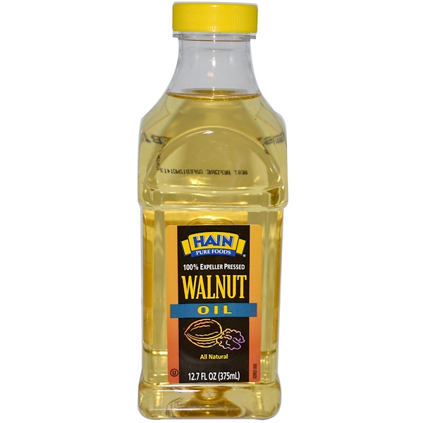 Hain Pure Foods, Walnut Oil, 12.7 fl oz (375 ml) (Discontinued Item)