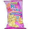 Hain Pure Foods, Mini Munchies, Mini Rice Snacks, White Cheddar, 3 oz (85 g) (Discontinued Item)
