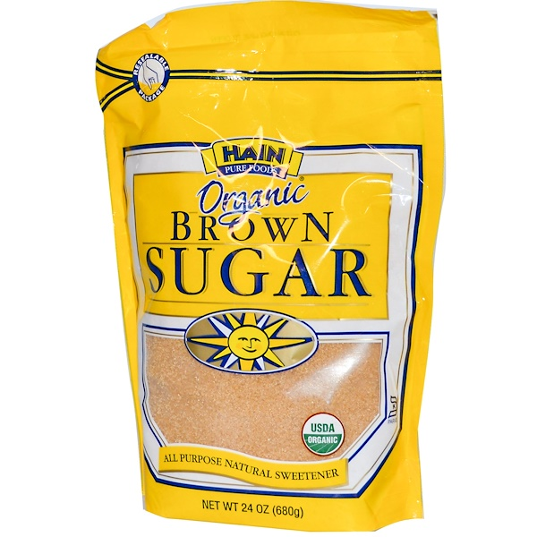Hain Pure Foods, Organic Brown Sugar, 24 oz (680 g) (Discontinued Item)