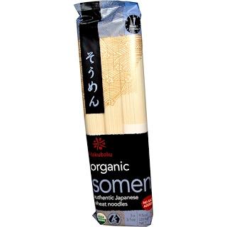 Hakubaku, Organic Somen , 9.5 oz (269 g)