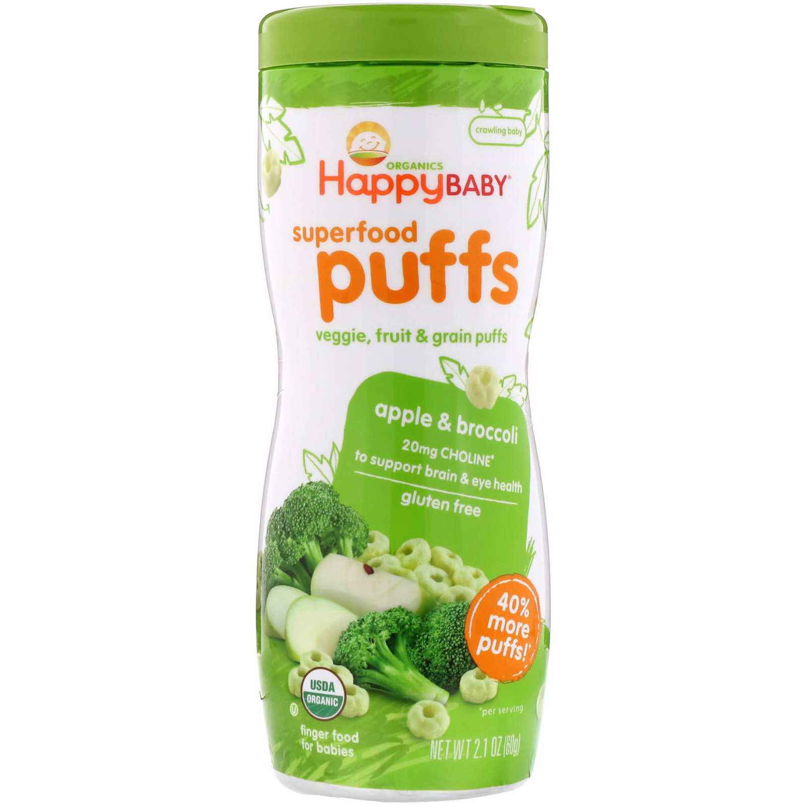 Happy Family Organics, Superfood Puffs