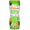 Happy Family Organics, Superfood Puffs, Apple & Broccoli, 2.1 oz (60 g)