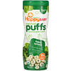 Happy Family Organics, Superfood Puffs, Organic Grain Snack, Kale & Spinach, 2.1 oz (60 g)