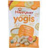 Happy Family Organics, Bio-Yogis, Snacks aus Gefriergetrocknetem Joghurt & Obst, Banane & Mango, 1 oz (28 g)