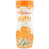 Happy Family Organics, Superfood Puffs  Veggie, Fruit & Grain, Sweet Potato & Carrot, 2.1 oz (60 g)