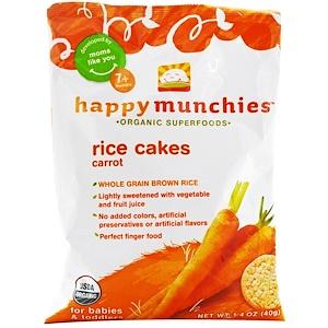 Нэйчэ Инк (Хэппи Бэби), happymunchies, Rice Cakes, Carrot, 1.4 oz (40 g) отзывы