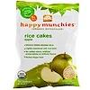 Nurture Inc. (Happy Baby), happy munchies, Rice Cakes, Apple, 1.4 oz (40 g)