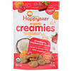 Happy Family Organics, Organic Creamies, Freeze-Dried Veggie, Fruit & Coconut Milk Snacks, Strawberry, Raspberry & Carrot, 1 oz (28 g)