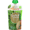 Happy Family Organics, Happytot, Superfoods, Stage 4. Organic Apples, Spinach, Peas & Broccoli + Super Chia, 4.22 oz (120 g)