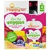 Happy Family Organics, HappyTot, Love My Veggies, Banana, Beet, Squash & Blueberry, 4 Pouches, 4.22 oz (120 g) Each