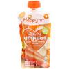 Happy Family Organics, Happy Tot,Love My Veggies,胡萝卜/香蕉/芒果/甘薯,4 袋 - 4.22 盎司(120 克)