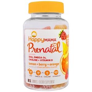 Нэйчэ Инк (Хэппи Бэби), Prenatal, DHA, Omega-3s, Choline and Vitamin D, 81 Gummies отзывы