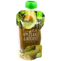 Органическое детское питание,  2-й этап, 6+ месяцев, яблоко, капуста и авокадо, 4,0 унции(113 г) - фото