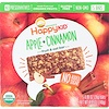 Happy Family Organics, Happy Kid, Apple + Cinnamon, Fruit & Oat Bar, 5 Bars, 0.99 oz (28 g) Each