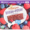 Happy Family Organics, Happy Kid, Blueberry + Raspberry, Fruit & Oat Bar, 5 Bars, 0.99 oz (28 g) Each