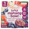 Happy Family Organics, Happy Tot, Super Morning Bowl, Oatmeal + Sprouted Quinoa, Organic Apples & Blueberries, 4.5 oz (128 g)