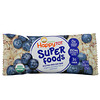 Happy Family Organics, Organics Happy Tot,超級食品,無麩質燕麥棒,有機藍莓和燕麥片,0.88 盎司(25 克),5 支裝