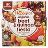 Happy Family Organics, Happy Tot, 12+ Months, Organic Beef & Quinoa Fiesta with Vegetable Salsa,  4.5 oz (128 g)