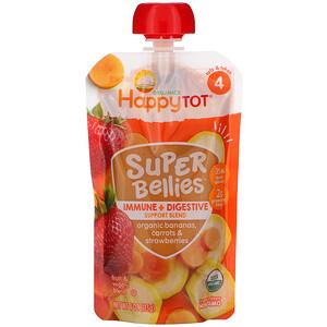 Нэйчэ Инк (Хэппи Бэби), Happy Tot, Super Bellies, Organic Bananas, Carrots & Strawberries, 4 oz (113 g) отзывы