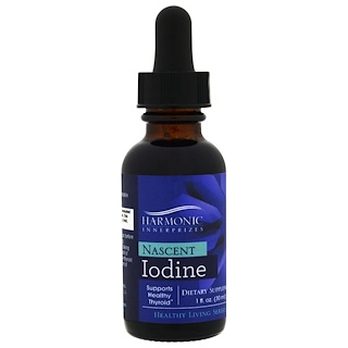Harmonic Innerprizes, Nascent Iodine, 1 fl oz (30 ml)