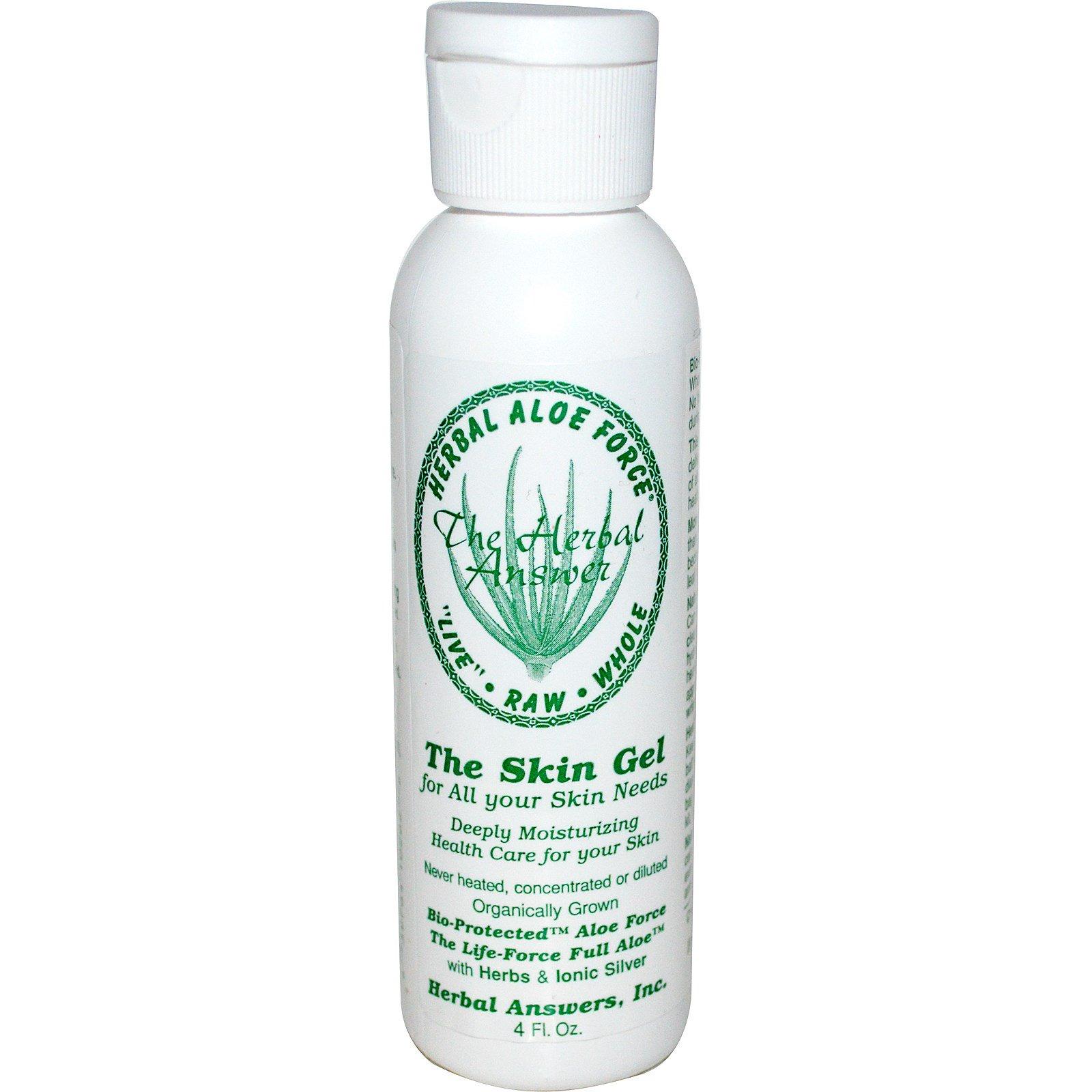Herbal Answers, Inc, Herbal Aloe Force, гель для кожи, 4 жидкие унции