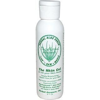 Herbal Answers, Inc, Herbal Aloe Force, The Skin Gel, 4 fl oz