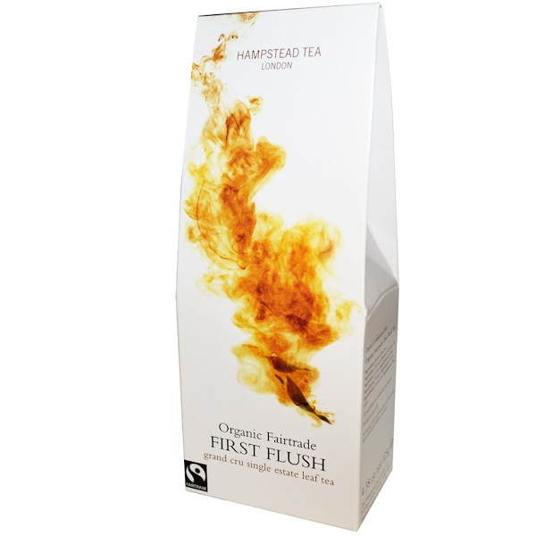 Hampstead Tea, First Flush, Organic Fairtrade, 4.38 oz (125 g) (Discontinued Item)