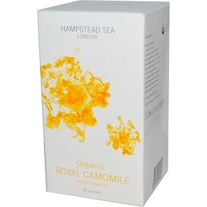 Хампстед Ти, Organic, Royal Chamomile, Restful Infusion, 20 Sachets, 1.06 oz (30 g) отзывы