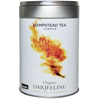 Hampstead Tea, Organic Darjeeling, Hampstead Tea, 3.53 oz (100 g)