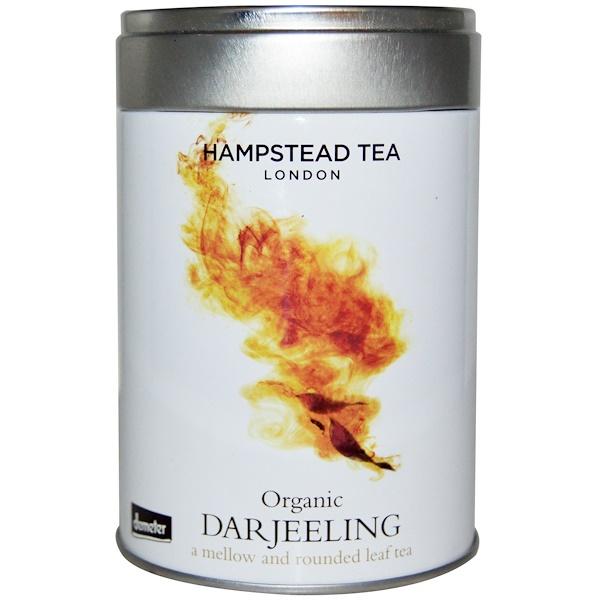 Hampstead Tea, Organic Darjeeling, Hampstead Tea, 3.53 oz (100 g)