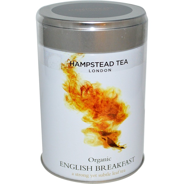 Hampstead Tea, Organic, English Breakfast, 3.53 oz (100 g)