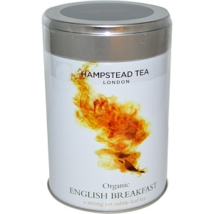 Хампстед Ти, Organic, English Breakfast, 3.53 oz (100 g) отзывы покупателей
