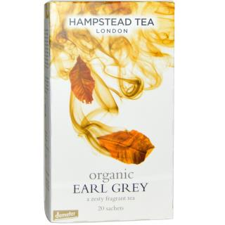 Hampstead Tea, London, Organic Earl Grey, 20 Sachets,  1.41 oz (40 g)